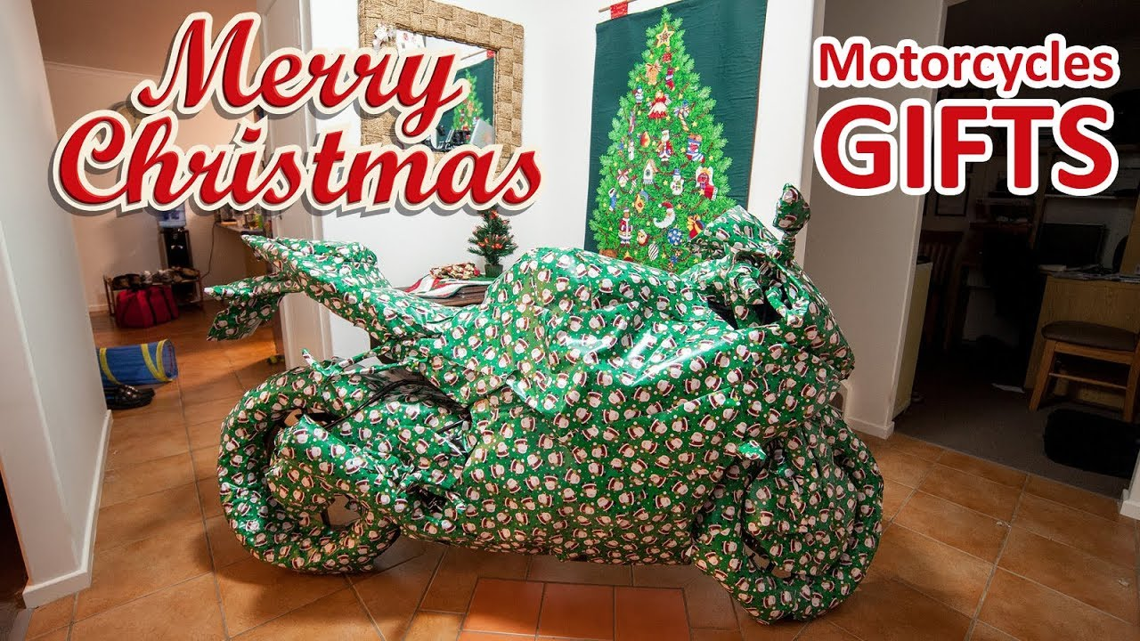 Motorcycles for Christmas - YouTube