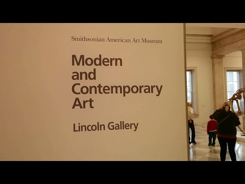 Modern and Contemporary Art exhibit at the Smithsonian American Art Museum (Washington, DC)