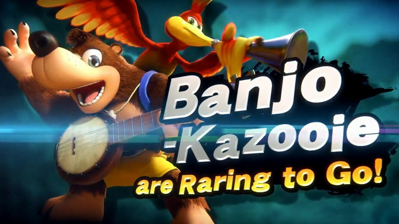 Banjo-Kazooie Coming to Super Smash Bros  Ultimate! (E3 Nintendo Direct)