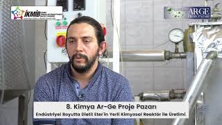 Endüstriyel Boyutta Dietil Eter'in Yerli Kimyasal Reaktör ile Üretimi (özet)