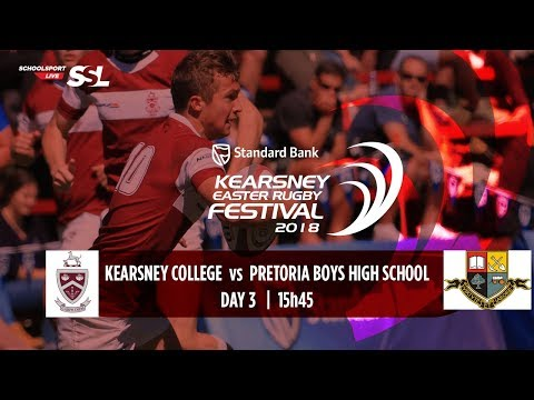 KERF - Kearsney College XV vs Pretoria Boys High XV, 02 April 2018
