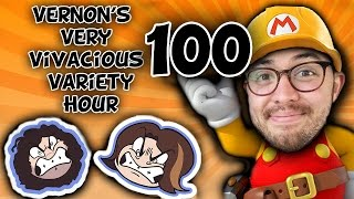 Super Mario Maker: Hanging Ten - PART 100 - Game Grumps