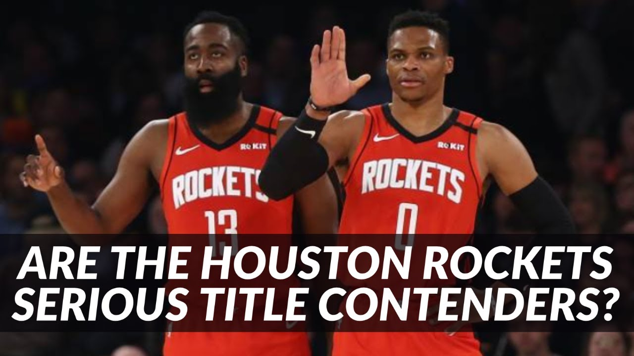 Rockets looking like legitimate title contenders, and Russell ...
