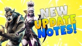 Fortnitemares Partie 2 Mythic Werewolf Dire! Fortnite Save The World Mise à jour 6.22 Nouveaux notes de patch