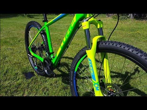 3baeca2aa0b Cube Aim SL 27.5 / 29 Mountainbike green n blue Modell 2016 - YouTube