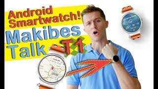 nEW Makibes Talk T1 3G Smartwatch Phone 1.39'' Smart watch AMOLED MTK6580 Heart Rate GPS 512MB/8GB f
