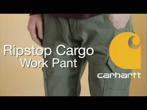 B342 Carhartt Ripstop Cargo Work Pant