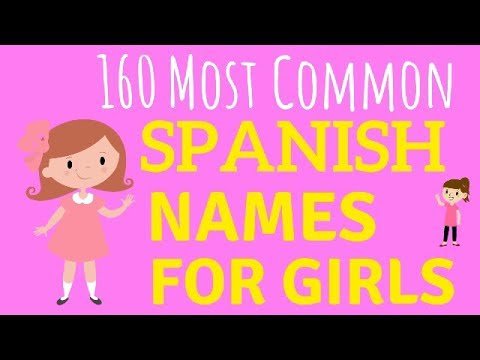 160 Spanish Baby Names For GIRLS & How To Pronounce Them