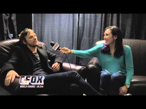 Dominic Howard from MUSE and Meredith from CFOX