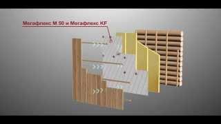 видео Пароизоляция бани: монтаж пароизоляции на стены и потолок