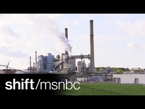 Making Wind Turbines From Inside A Coal Plant | shift | MSNBC