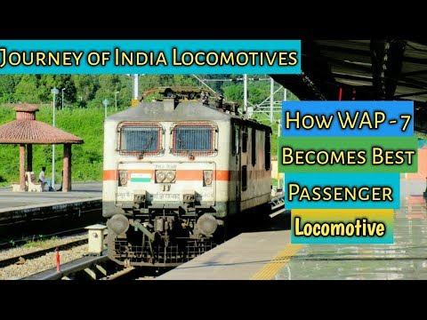 Indian Railway Signalling System :- How WAP-7 Becomes Best Locomotive