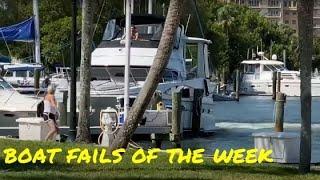 Boat Fails of the Week | Mayhem at the Marina!