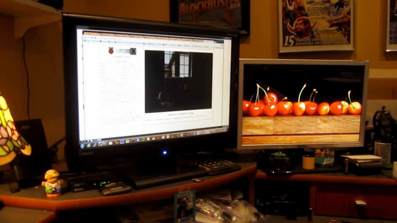 Raspberry Pi Camera Module Motion Detection and Time Lapse Web Project  using Python Script Part 2
