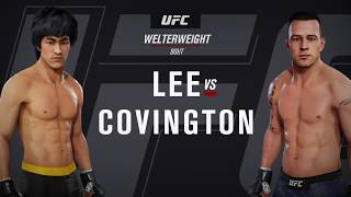 Bruce Lee VS The UFC - Colby Covington