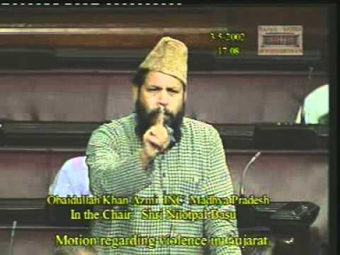 Impressive Obaidullah Khan Azmi Parliment Speech 1/4