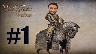 MUHTARLA YAKINLAŞIYORUZ!!! Mount And Blade Fire And Sword #1