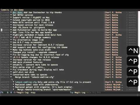 Rewrite git history with Emacs, magit and git rebase - YouTube