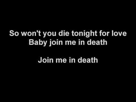 HIM   Join Me In Death Karaoke unofficial instrumental