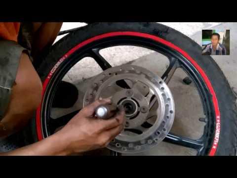 Cara Ganti Laher Motor Dengan Benar - Belajar Servis Motor Sendiri ( Praktek )
