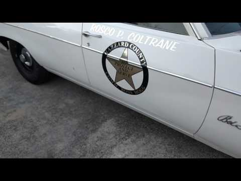 Boss Hogg 1969 belair police car