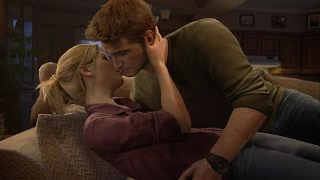 Uncharted 4 Thief's End: Nathan  & Elena All Cutscenes (PS4/1080p)