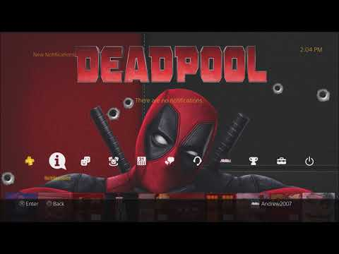 God Of War & Deadpool Theme For PS4 (PS4 Jailbreak) + Download