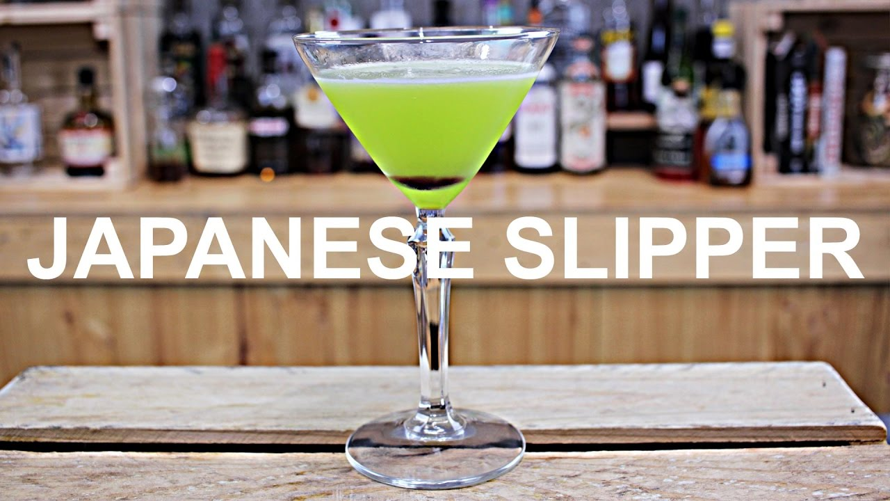 5bb3a1a5c Japanese Slipper Cocktail Recipe - YouTube