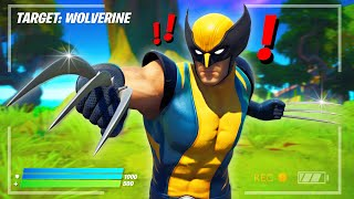 Finding *WOLVERINE* BOSS in FORTNITE!