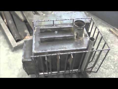видео: Печь для бани  Индивидуальная печь для бани