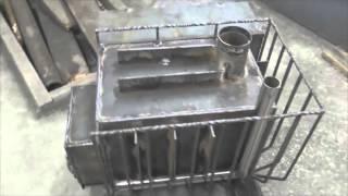 видео Какую печь для бани с баком для воды выбрать для своего помещения