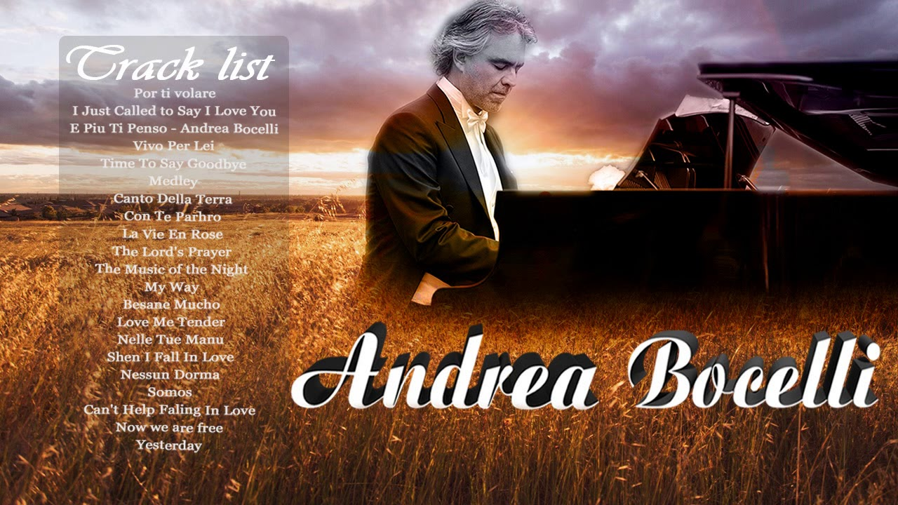 Andrea Bocelli Greatest English Love Songs All Time Old English Love Songs To Remember Youtube
