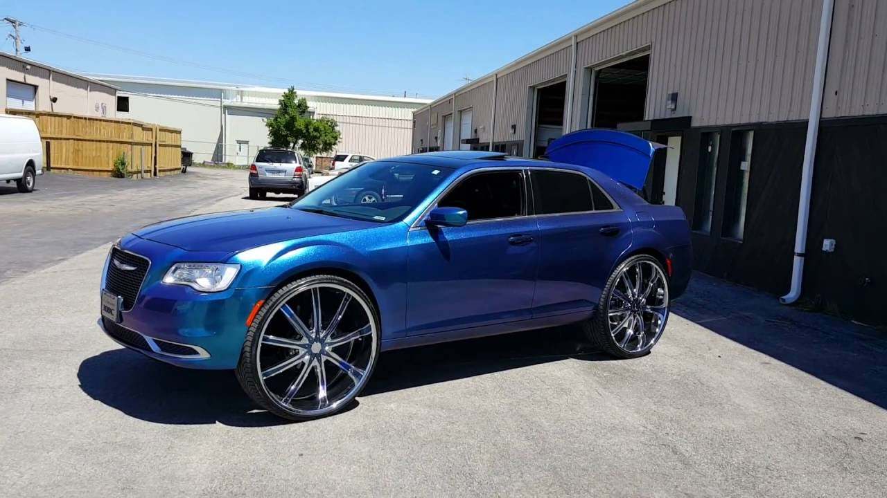 2015 Chrysler 300 On 30s Customized Youtube