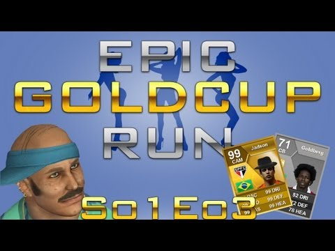 FIFA 13 George EPIC Cup Run S01E03 - Ultimate Team - Let's Play