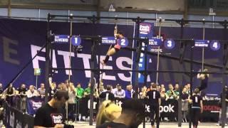 Oxana Slivenko - Reebok CrossFit Regionals 2013 - Event 7