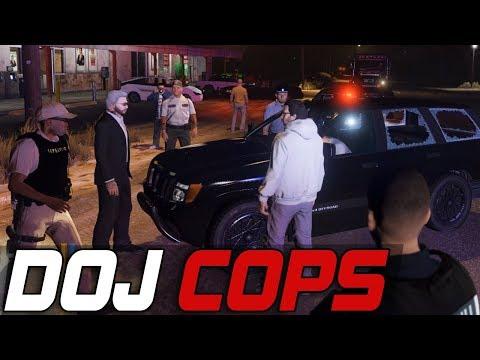 Dept. of Justice Cops #511 - Junior Deputy Sticker