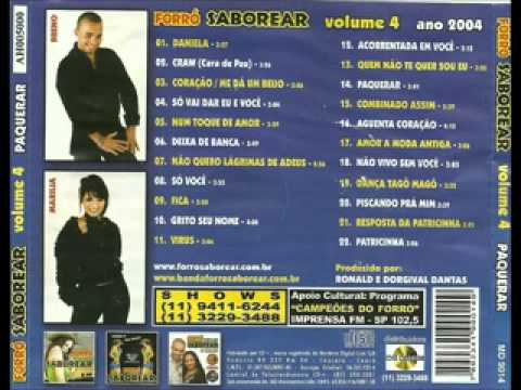 Forró  Saborear  Vol.  4                     (Álbum completo)