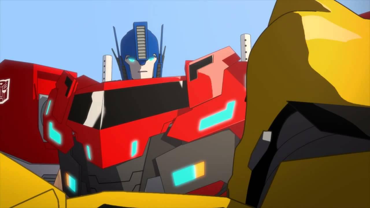 cartoon network meet optimus prime
