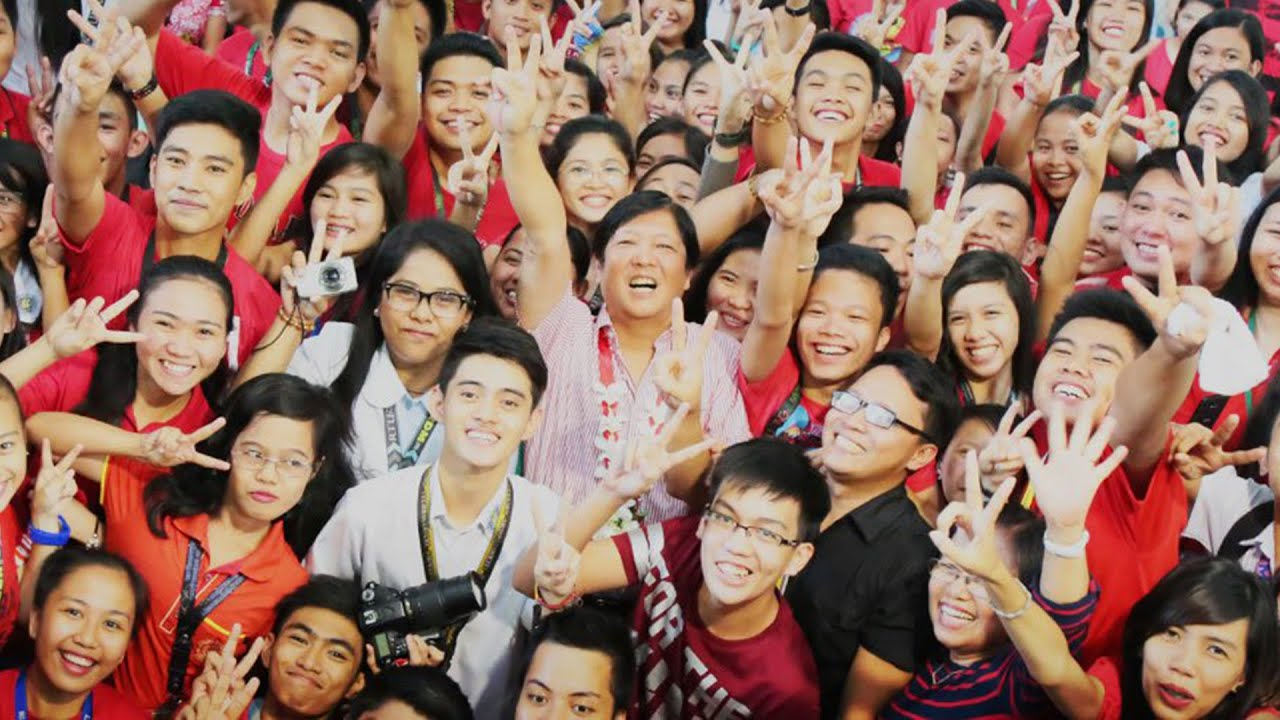 Image result for images for bongbong marcos with his followers