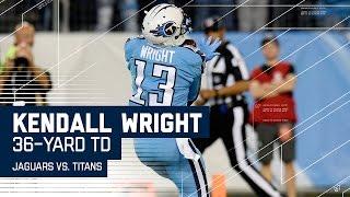 Marcus Mariota Hits Kendall Wright for a 36-Yard TD! | Jaguars vs. Titans | NFL