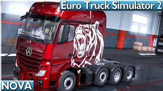 ETS2 NOVA 🚚 NEUER MERCEDES und…? #1 Euro Truck 2