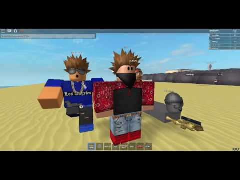 Playing On Ludfoes Game On Gbk City On Roblox Youtube