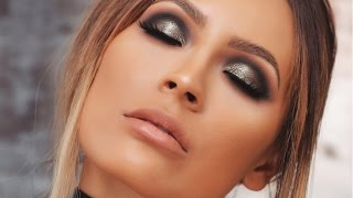 GUNMETAL SMOKEY EYE | DESI PERKINS