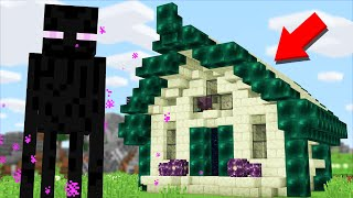 living in a Minecraft Enderman House