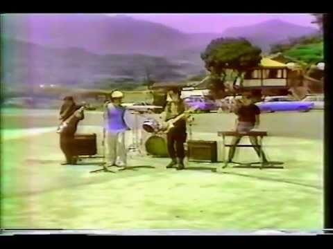 """The Typhoons"" at the beach on Taiwan TV - 1984"
