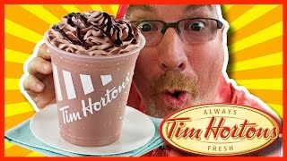 Tim Horton's Creamy Chocolate Chill Review Warning: Brain Freeze!
