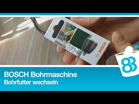 bosch psb 750 rce bohrfutter wechseln youtube. Black Bedroom Furniture Sets. Home Design Ideas