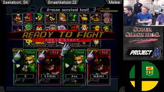 Smashkatoon 22 - Crogunk & Pink (Green) vs Wahl & Anglor (Red) R1 Winners