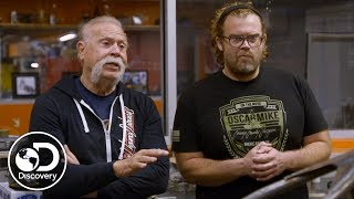 Building a Bike to Raise Money in Support of Veterans | American Chopper