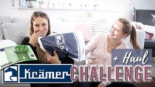 KRÄMER Challenge + Haul mit LIFELOVENIKI | Pilsali